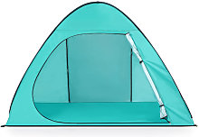 Teal Automatic Beach Tent