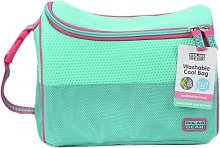Teal Neoprene Boot Lunch Bag