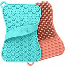 Teal Trunk Silicone Sponge and Scrubber - The
