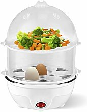 Team Kalorik Egg Cooker with 2-Level Steam Cooker