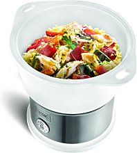 Team Kalorik Electric Ceramic Steamer, 4.5 L