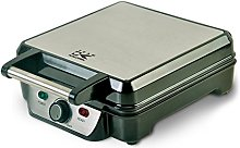 Team Kalorik Electric Waffle Iron, Stainless
