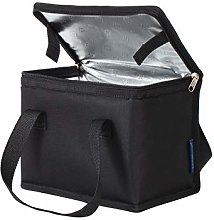 TEAMOOK Foldable Lunch Bag Insulated Lunch Box