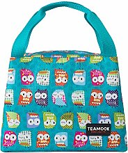 TEAMOOK Lunch Bag for Adults and Kids Lunch Tote