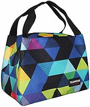 TEAMOOK Lunch Bag Insulated for Picnic School