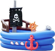 Teamson Kids 8ft Pirate Inflatable Water Play