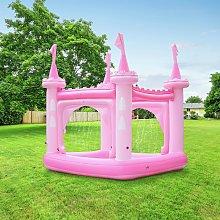 Teamson Kids 8ft Water Fun Pink Castle Kids