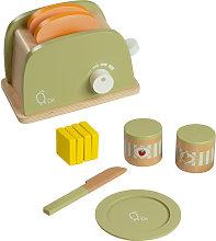 Teamson Kids Wooden Toaster Toy Play Kitchen