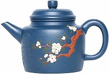 Teapot Plum Hole Green Clay Teapot Ball Home