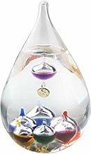 Tear Drop Galileo Thermometer - Glass Galileo