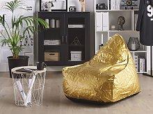 Teardrop Drop Bean Bag Chair Beanbag Gold Gaming
