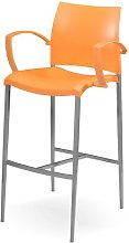 Teasdale 80cm Bar Stool Sol 72 Outdoor