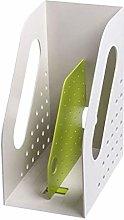 TEAYASON Bookcase Plastic Desktop File Small
