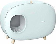 TEAYASON Cat Toilet Cat Litter Boxes Plastic Pet