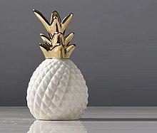TEAYASON Creative Ceramic Pineornaments Modern