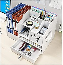 TEAYASON Cubicle Decor Desk Organizers and