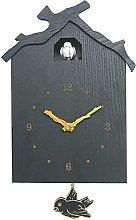 TEAYASON Cuckoo Clock Modern Cuckoo Wall Clock