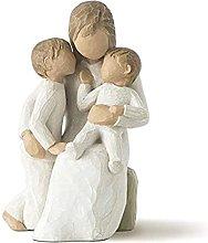TEAYASON Decorative Ornaments a Family of Three