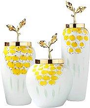TEAYASON Decorative Vase European Vase Set