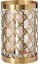 TEAYASON Decorative Vase Vase Glass Vase Creative