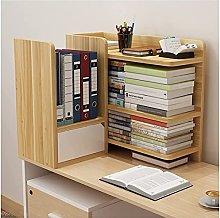 TEAYASON Desk Storage Creative Desktop Bookshelf