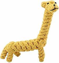 TEAYASON Dog Chew Toy Cute Dog Chew Toy Cotton