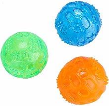 TEAYASON Dog Teeth Cleaning Toy, 3Pcs/Set Pet Dog