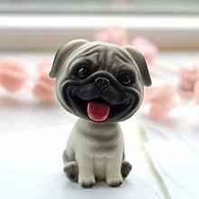 TEAYASON Puppy Sculpture,Resin Creative