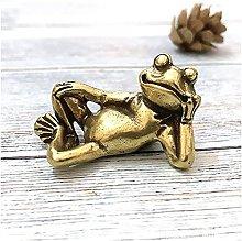 TEAYASON Sculpture Mini Retro Lucky Brass Animal