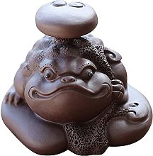 TEAYASON Sculptures/Statues Feng Shui Money Frog