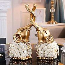 TEAYASON Sculptures/Statues Home Desk Ornaments