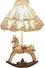 TEAYASON Table Llamp European Style Children's