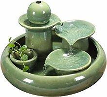 TEAYASON Tabletop Fountains Creative Water