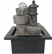 TEAYASON Tabletop Fountains Water Fountains Resin