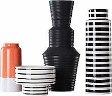 TEAYASON Vase Vase for Flower Vase Ceramic Vase