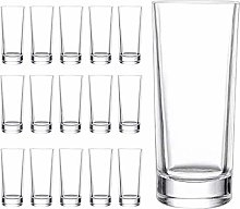 Tebery 16 Pack Espresso Shot Glasses with Heavy
