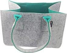 Tebewo Felt Shopping Bag Large Shopping Bag with