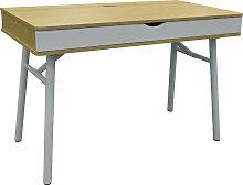 TECH - Modern Retro Hideaway Office Desk /