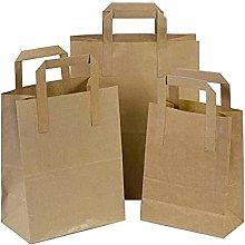 Techno Packaging Ltd Pack of 250 Brown SOS Kraft