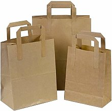 Techno Packaging Ltd Pack of 50 Brown SOS Kraft