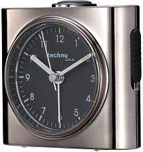Technoline Geneva SX Quartz Alarm Clock (Gun Metal)