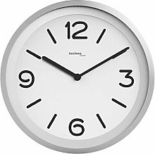 Technoline Modern Wall Clock with Night Detection