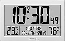 Technoline WS 8016 Radio Wall Clock with
