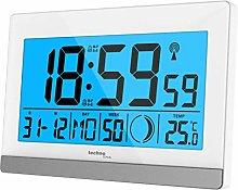 Technoline WS8056 Radio-Controlled Alarm Clock,