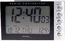 TECHNOLINE WT 188 black Radio Controlled Clock,