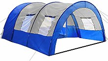 TecTake Camping tent tunnel with foyer 4-6 man