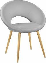 Tectake - Chair Julia - desk chair, lounge chair,