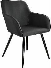 Tectake - Chair Marylin | Office accent armchair -
