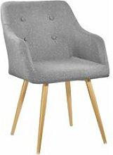 Tectake - Chair Tanja - desk chair, lounge chair,
