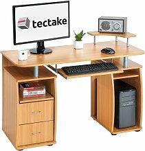 Tectake - Computer desk 115x55x87cm - desk, office